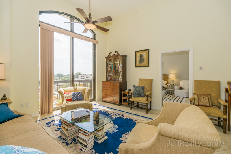 701 S Olive Avenue #303 - Living Room - Two City Plaza - West Palm Beach
