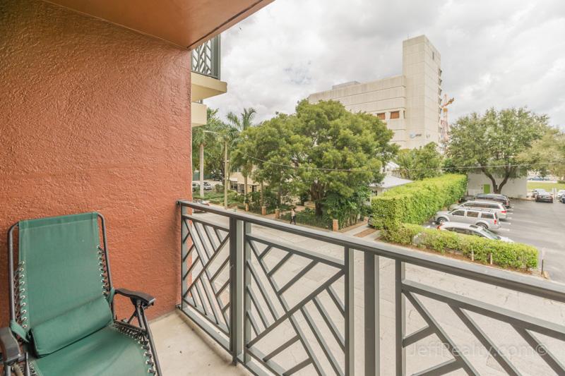 601 S Dixie Highway #201 - Balcony View - The Prado