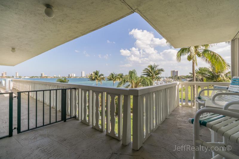 301 Lake Shore Drive #308 - Balcony & View - Lake Harbour Towers - Lake Park