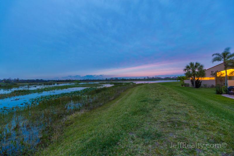 1002 Mahogany Place - Backyard View - Heather Run - PGA National