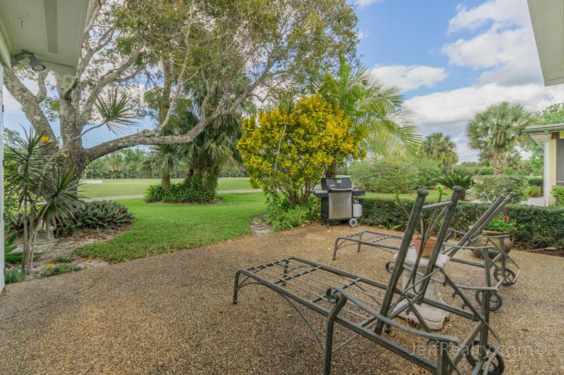 6350 Whispering Lakes Lane - Patio & View - Eastpointe - Palm Beach Gardens