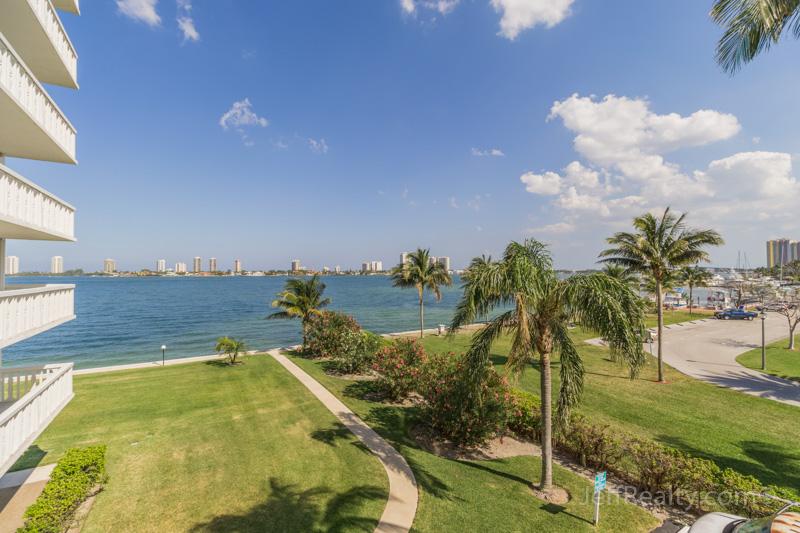 301 Lake Shore Drive #308 - Balcony View - Lake Harbour Towers - Lake Park