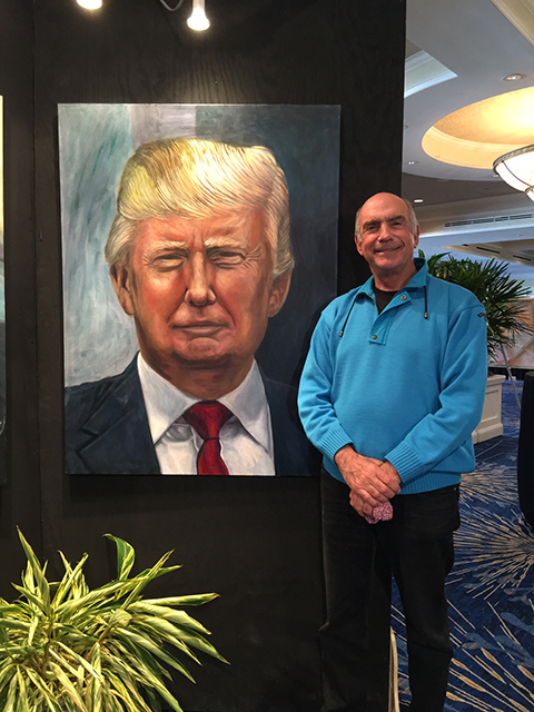 Cary Lichtenstein with Donald Trump
