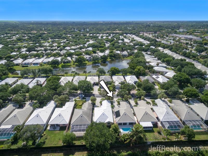 8588 Doverbrook Drive - Aerial View - Garden Oaks - Palm Beach Gardens