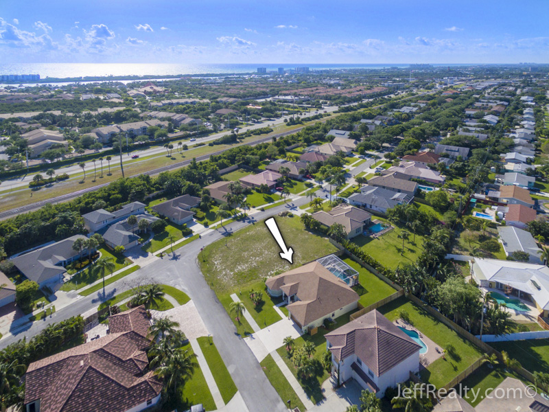 511 Cypress Court - Aerial View - Cypress Ridge - Tequesta