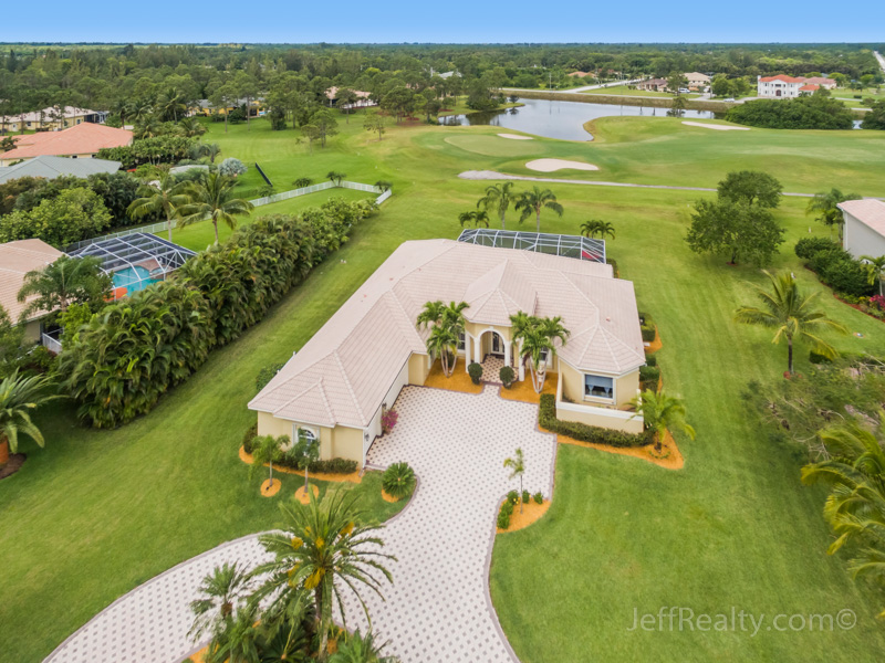 7631 Woodsmuir Drive | Aerial View | Bay Hill Estates | West Palm Beach