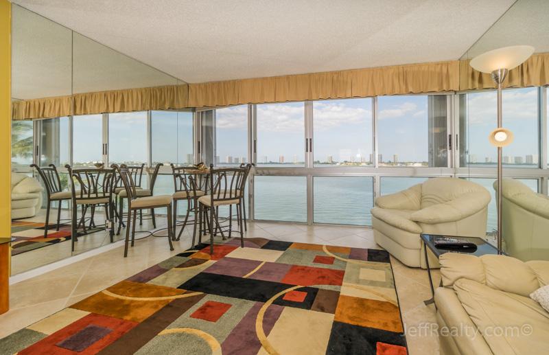 301 Lake Shore Drive #602 - Great Room - Lake Harbour Towers - Lake Park