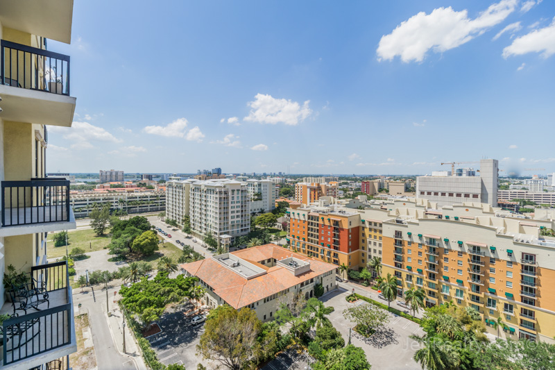 701 S Olive Avenue #1122 | Balcony View | Two City Plaza | West Palm Beach