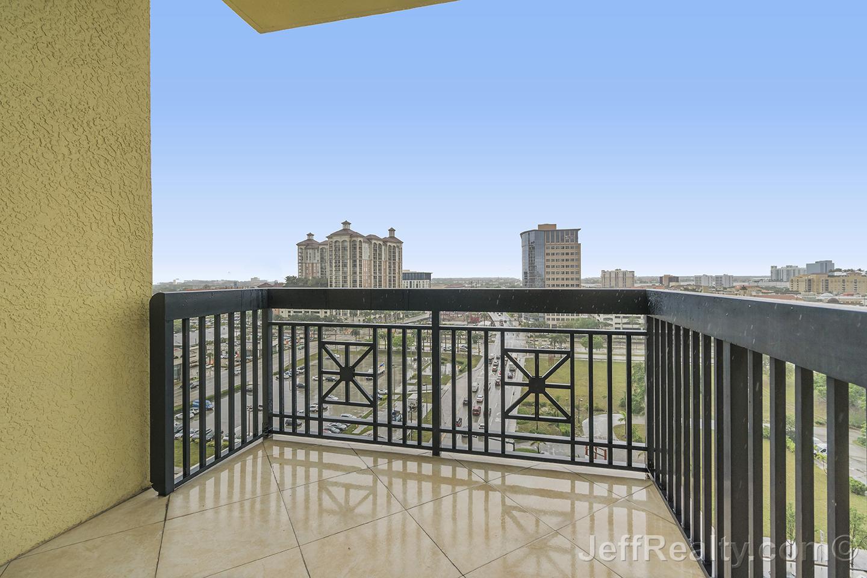 701 S Olive Avenue #928 - Balcony View - Two City Plaza - West Palm Beach