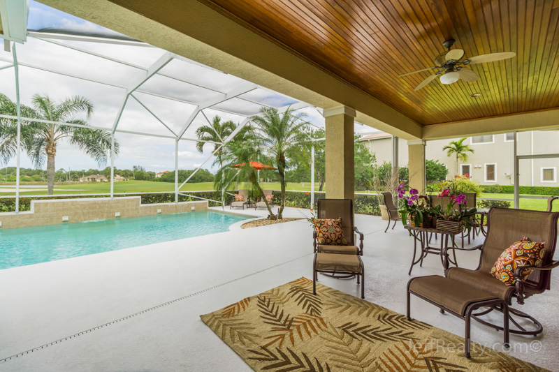 7631 Woodsmuir Drive | Screened Pool & Patio | Bay Hill Estates | West Palm Beach