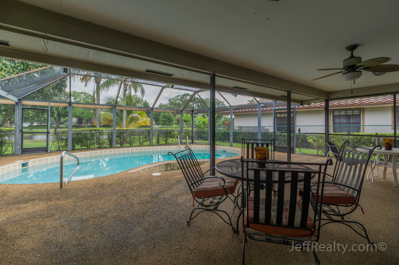 14 Glengary Road | Patio & Swimming Pool | Glengary | PGA National