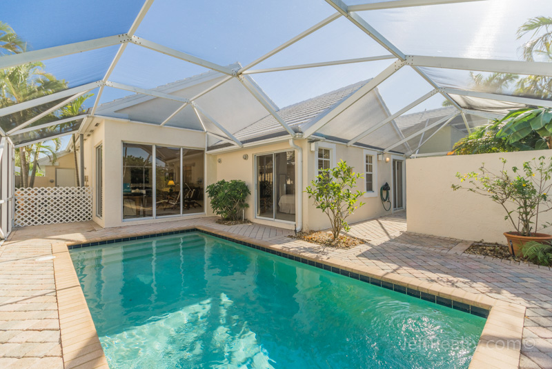 9190 Heathridge Drive   Screened Swimming Pool   Breakers West   West Palm Beach