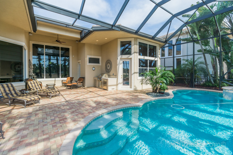 417 Savoie Drive   Screened Patio & Swimming Pool   Frenchman's Reserve   Palm Beach Gardens