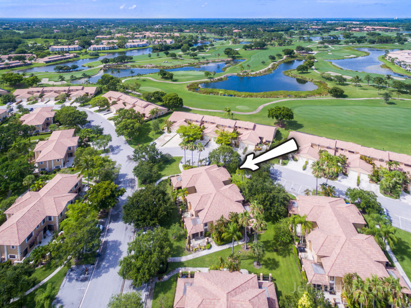 382 Prestwick Circle #1 | Aerial View | Prestwick Chase | PGA National