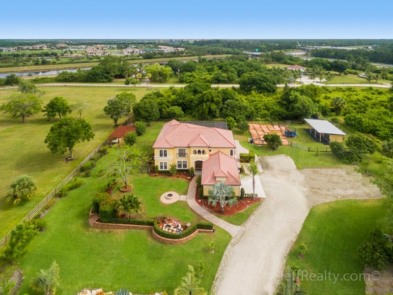 7591 168th Court N | Aerial View | Palm Beach Country Estates | Palm Beach Gardens