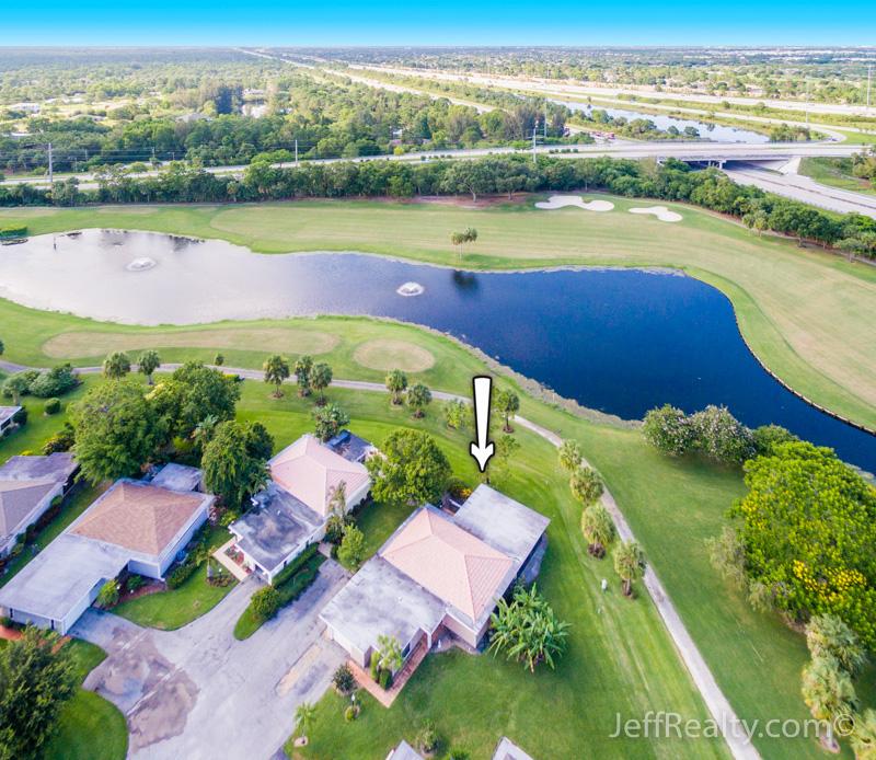 13868 Whispering Lakes Lane | Aerial View | Eastpointe | Palm Beach Gardens