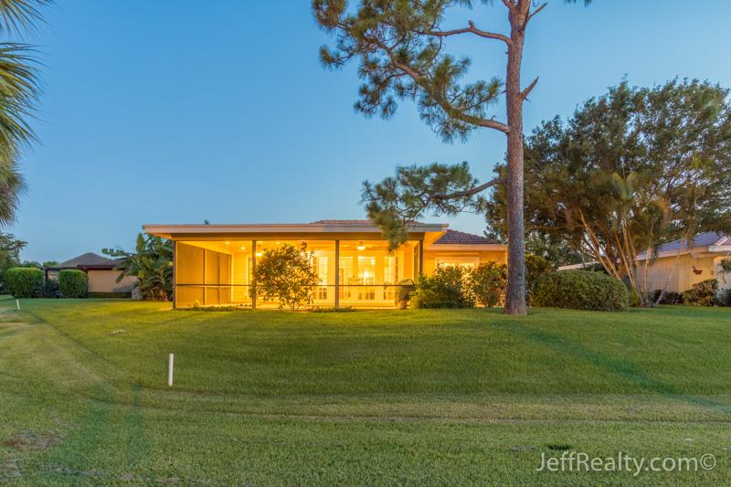 13868 Whispering Lakes Lane | Back - At Night - Eastpointe | Palm Beach Gardens