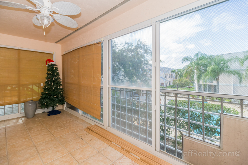 202 Muirfield Court #202A | Balcony Patio | Muirfield at Indian Creek | Jupiter