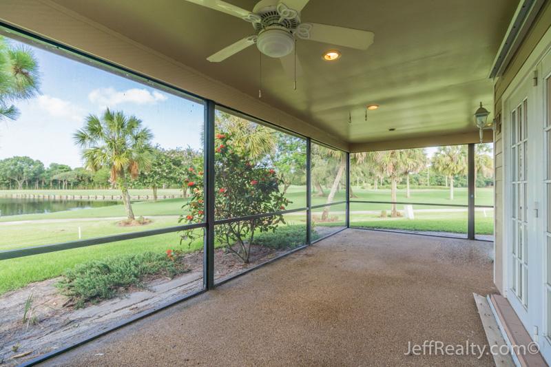 13868 Whispering Lakes Lane | Screened Porch & View | Eastpointe | Palm Beach Gardens