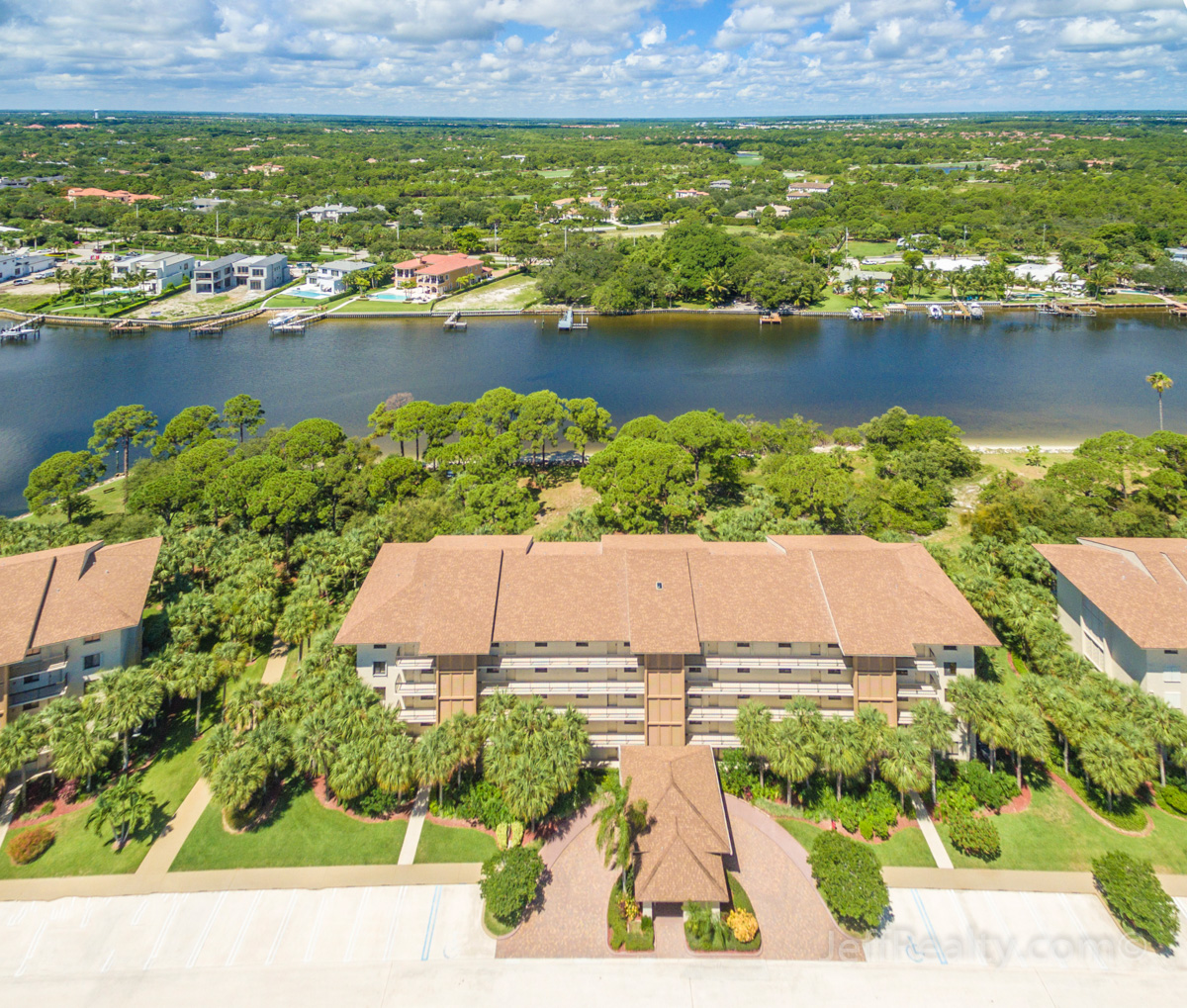 2101 Marina Isle Way #103 | Aerial View | The Marina at The Bluffs | Jupiter