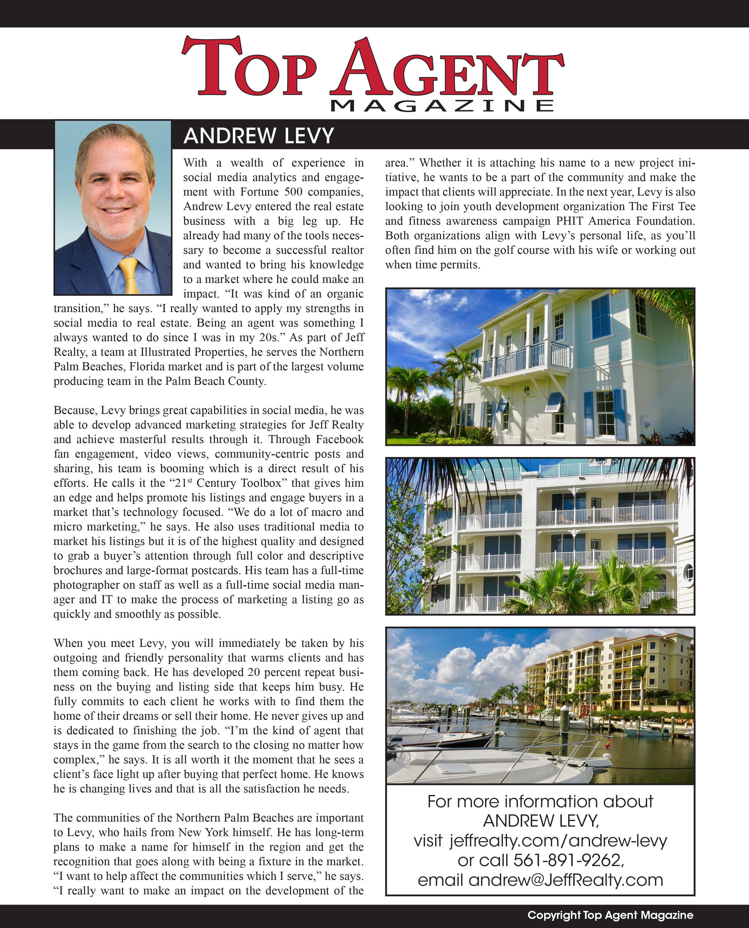 Andrew Levy, Real Estate West Palm Beach
