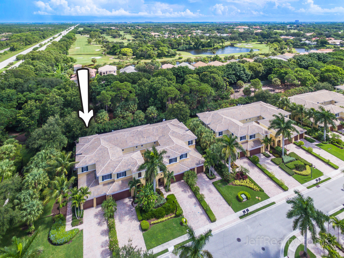 317 Chambord Terrace | Aerial View | Frenchman's Reserve | Palm Beach Gardens