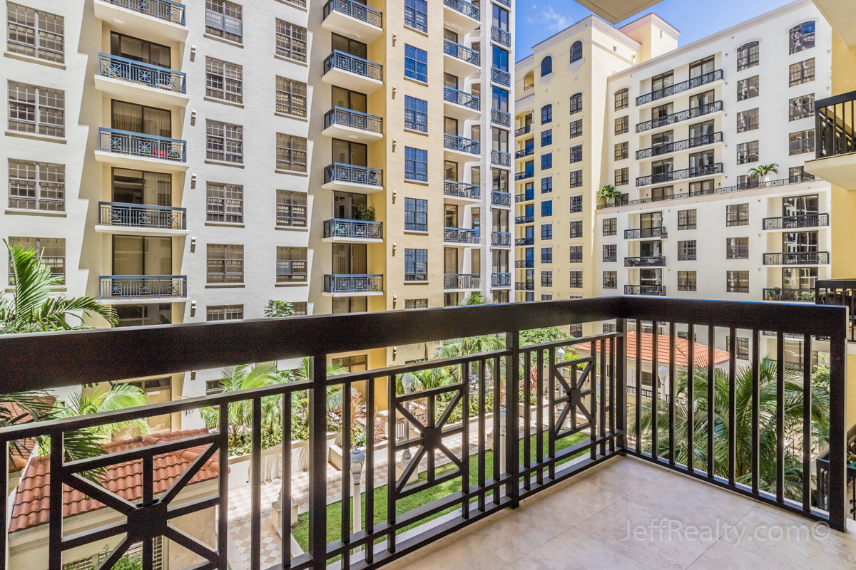 701 S Olive Ave #706 | Balcony View | Two City Plaza | West Palm Beach