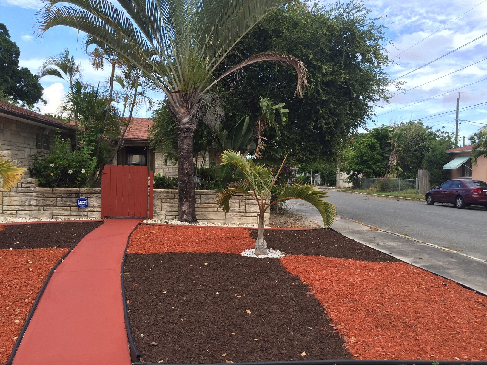 Designing with Mulch & Stone