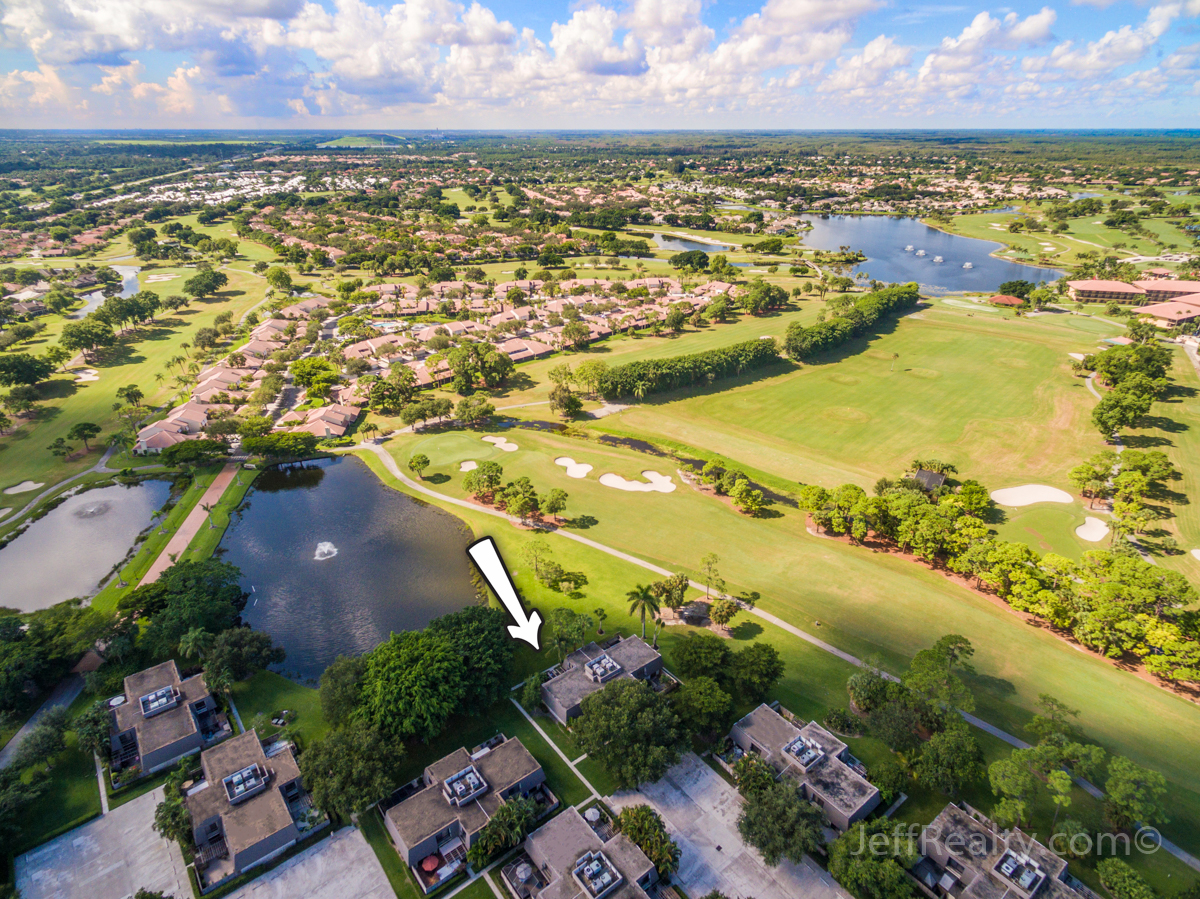 1314 13th Terrace | Aerial View | Glenwood | PGA National