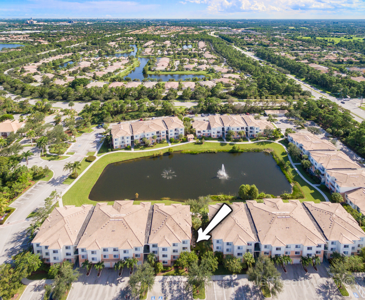 6207 W Myrtlewood Circle | Aerial View | Fiore | Palm Beach Gardens