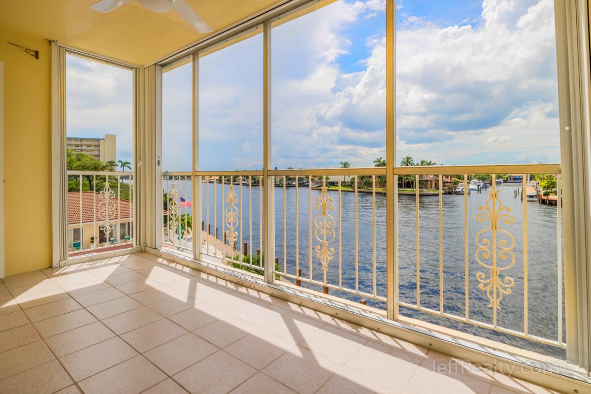3114 S Ocean Boulevard #302 | Balcony | Monterey House | Highland Beach