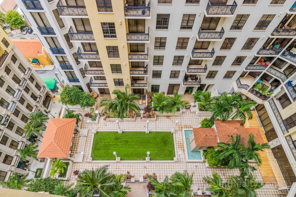 701 S Olive Avenue #1414 | Balcony View | Two City Plaza | West Palm Beach