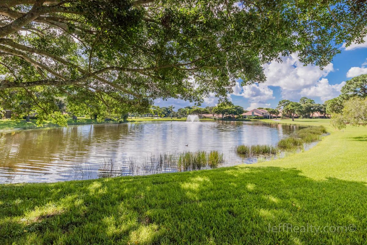 1314 13th Terrace | Backyard View | Glenwood | PGA National