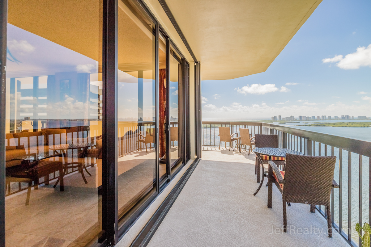 115 Lakeshore Drive PH-47 | Balcony & View | Old Port Cove | North Palm Beach