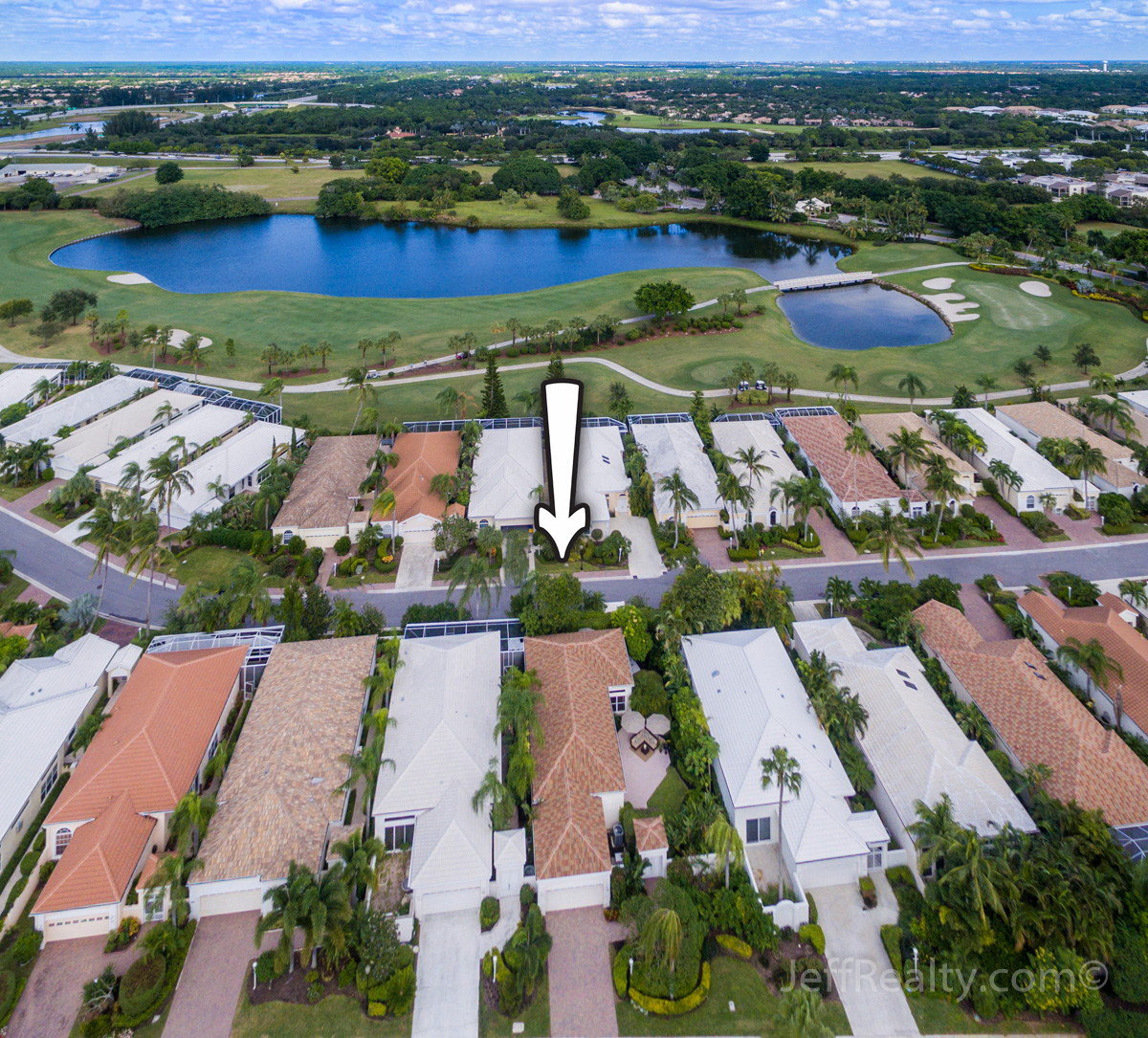 116 Coral Cay Drive | Aerial View | Coral Cay | BallenIsles