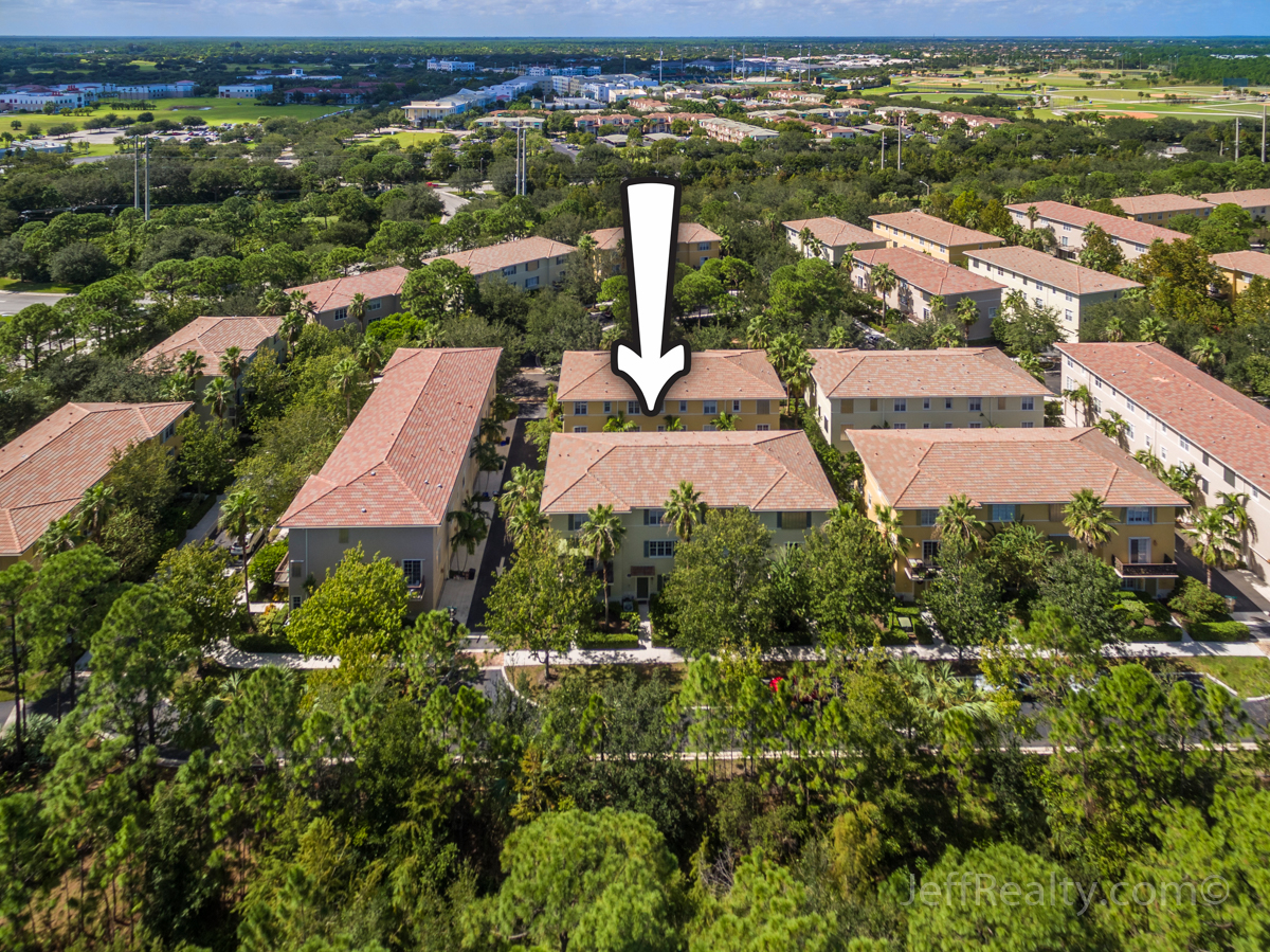 132 Morning Dew Circle | Aerial View | Osceola Woods | Abacoa
