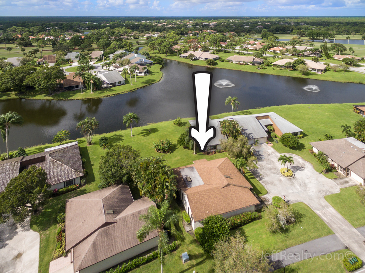 13315 Crosspointe Drive | Aerial View | Eastpointe Country Club | Palm Beach Gardens