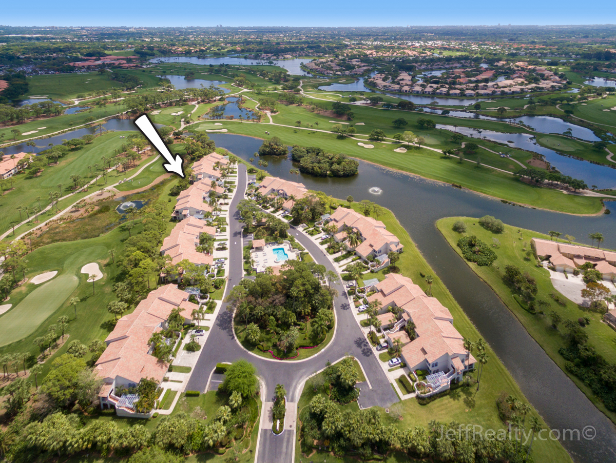 303 Ryder Cup Circle | Aerial View | Ryder Cup Villas | PGA National