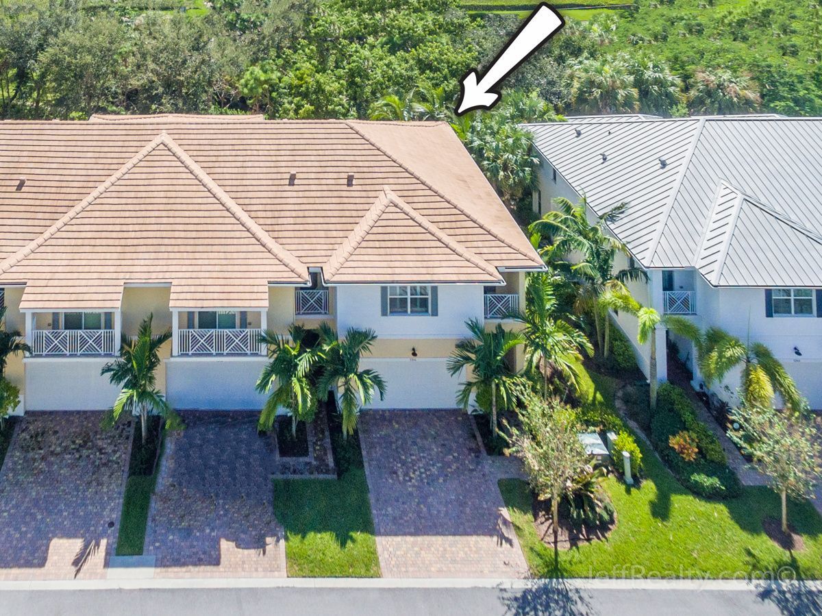 5246 Cambridge Court | Aerial View | Hampton Cay | Palm Beach Gardens
