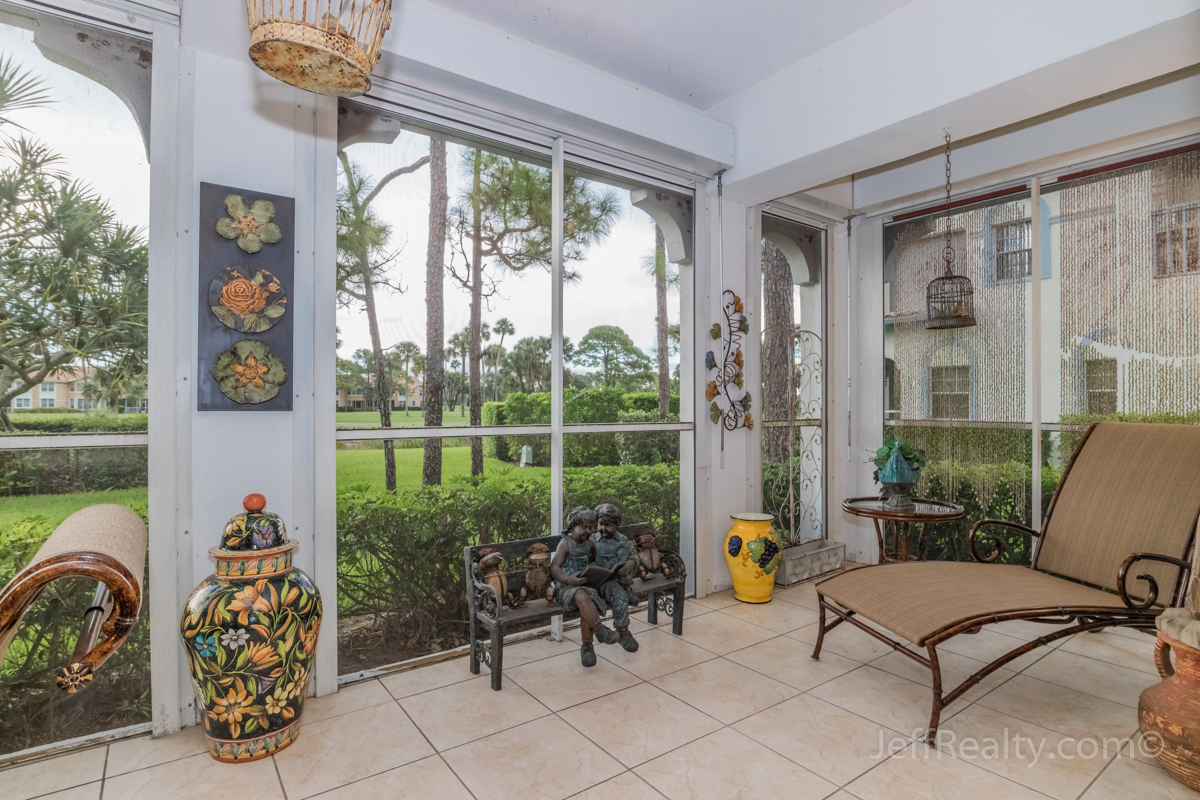 303 Ryder Cup Circle | Screened Patio & View | Ryder Cup Villas | PGA National
