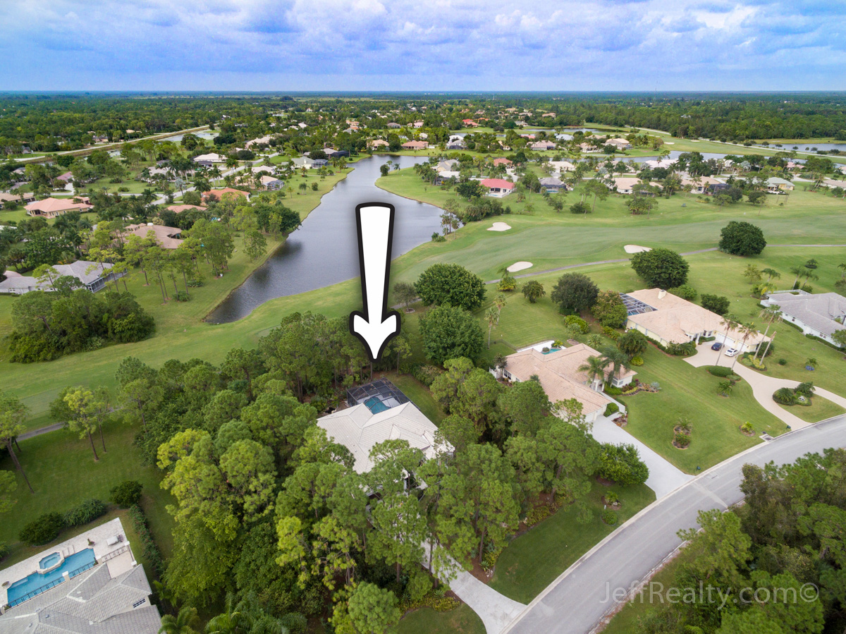11900 Torreyanna Circle | Aerial View | Bay Hill Estates | West Palm Beach