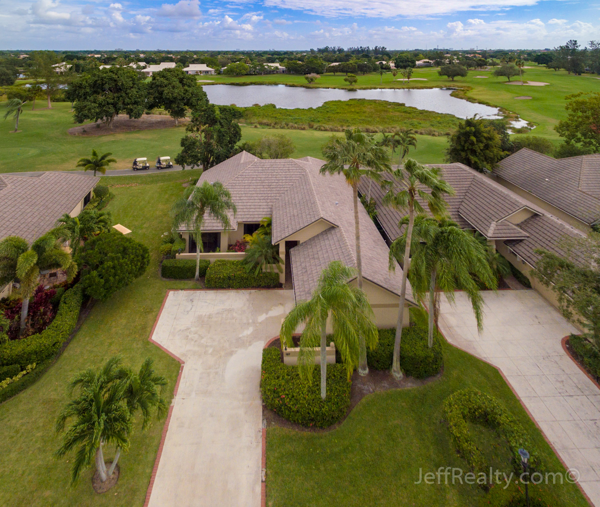 127 Coventry Place | Aerial View | Coventry | PGA National