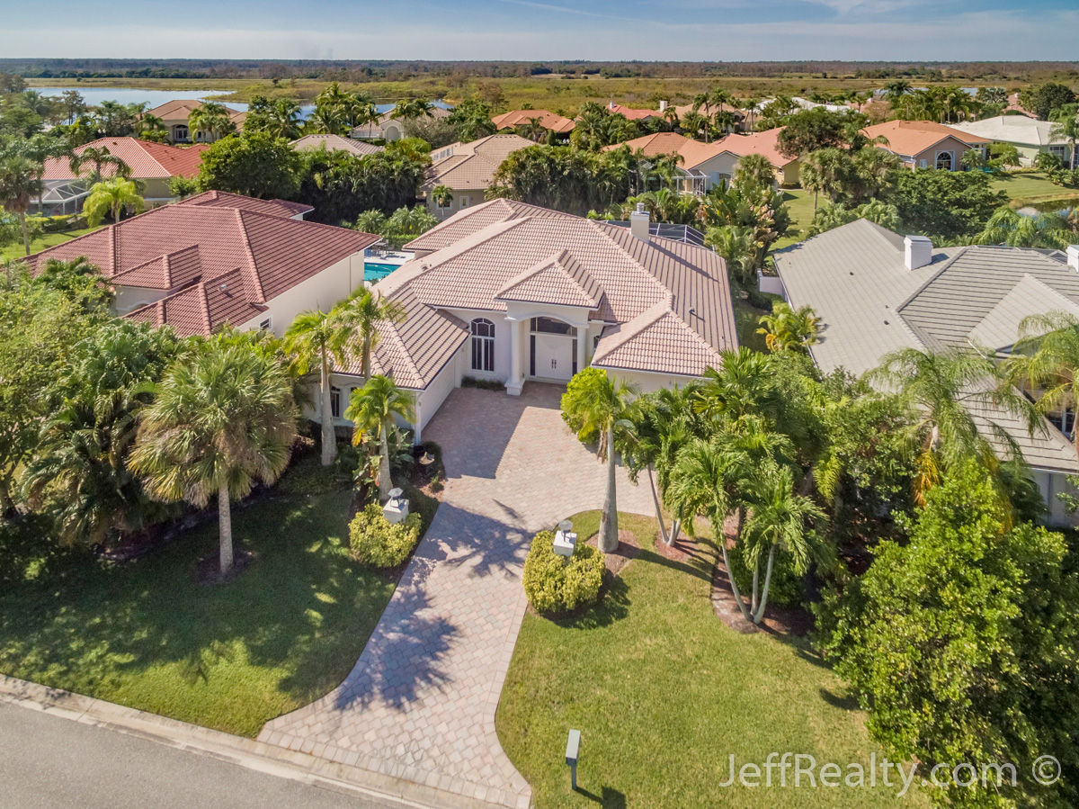 13 Cayman Place | Aerial View | The Island | PGA National