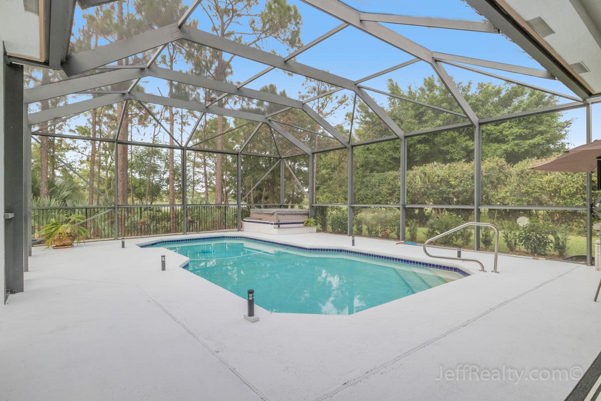 11900 Torreyanna Circle | Screened Swimming Pool & Patio | Bay Hill Estates | West Palm Beach