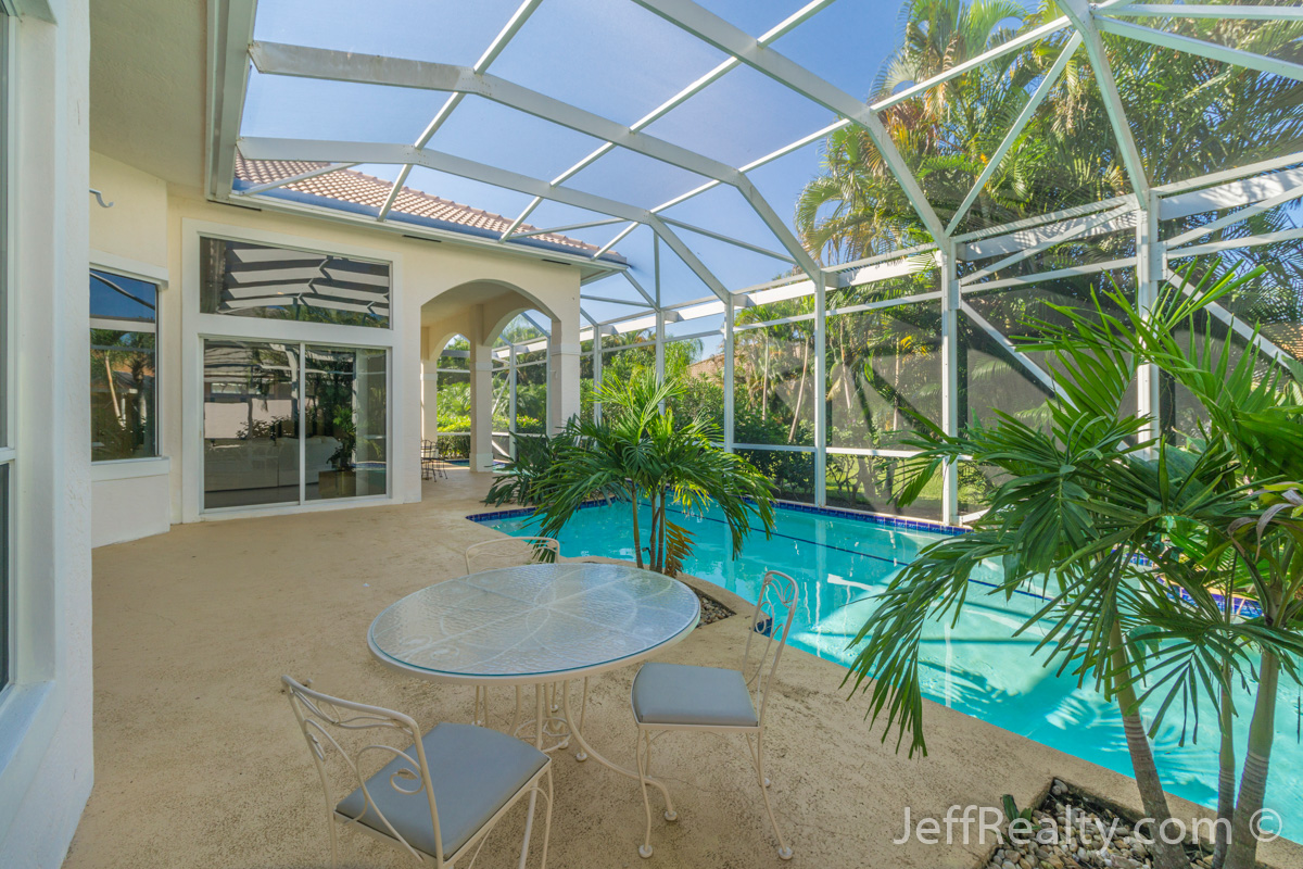 13 Cayman Place | Screened Patio & Swimming Pool | The Island | PGA National