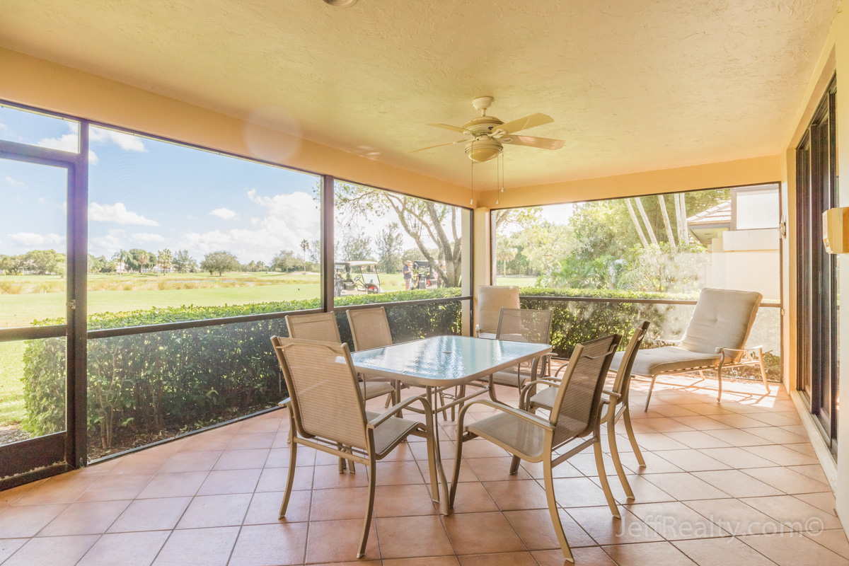 127 Coventry Place | Screened Patio & Golf View | Coventry | PGA National
