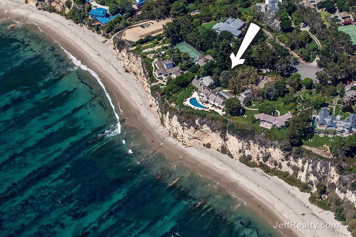 Barbra Streisand's Oceanside Oasis