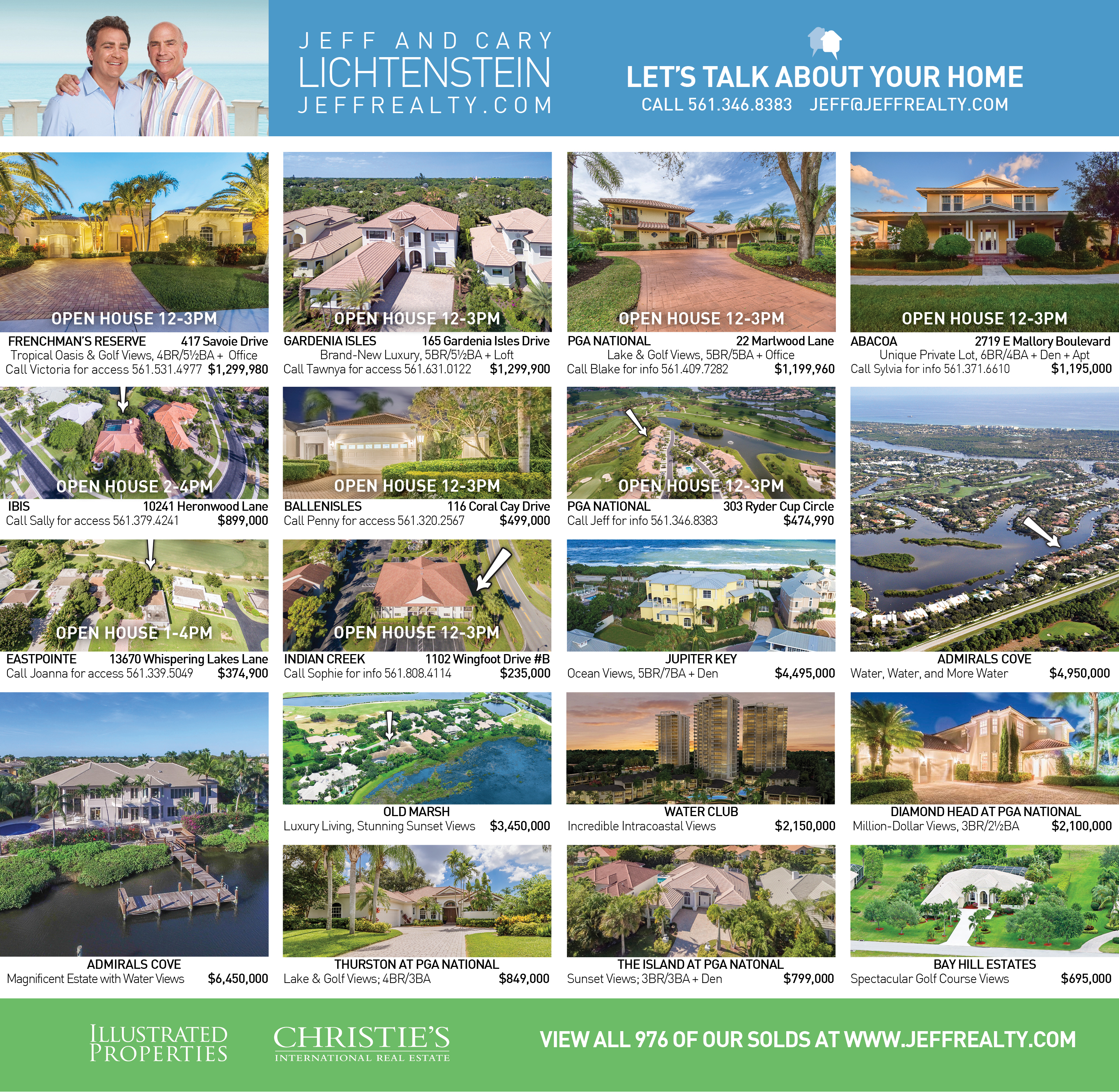 Palm Beach Post Residences Ad | December 11, 2016