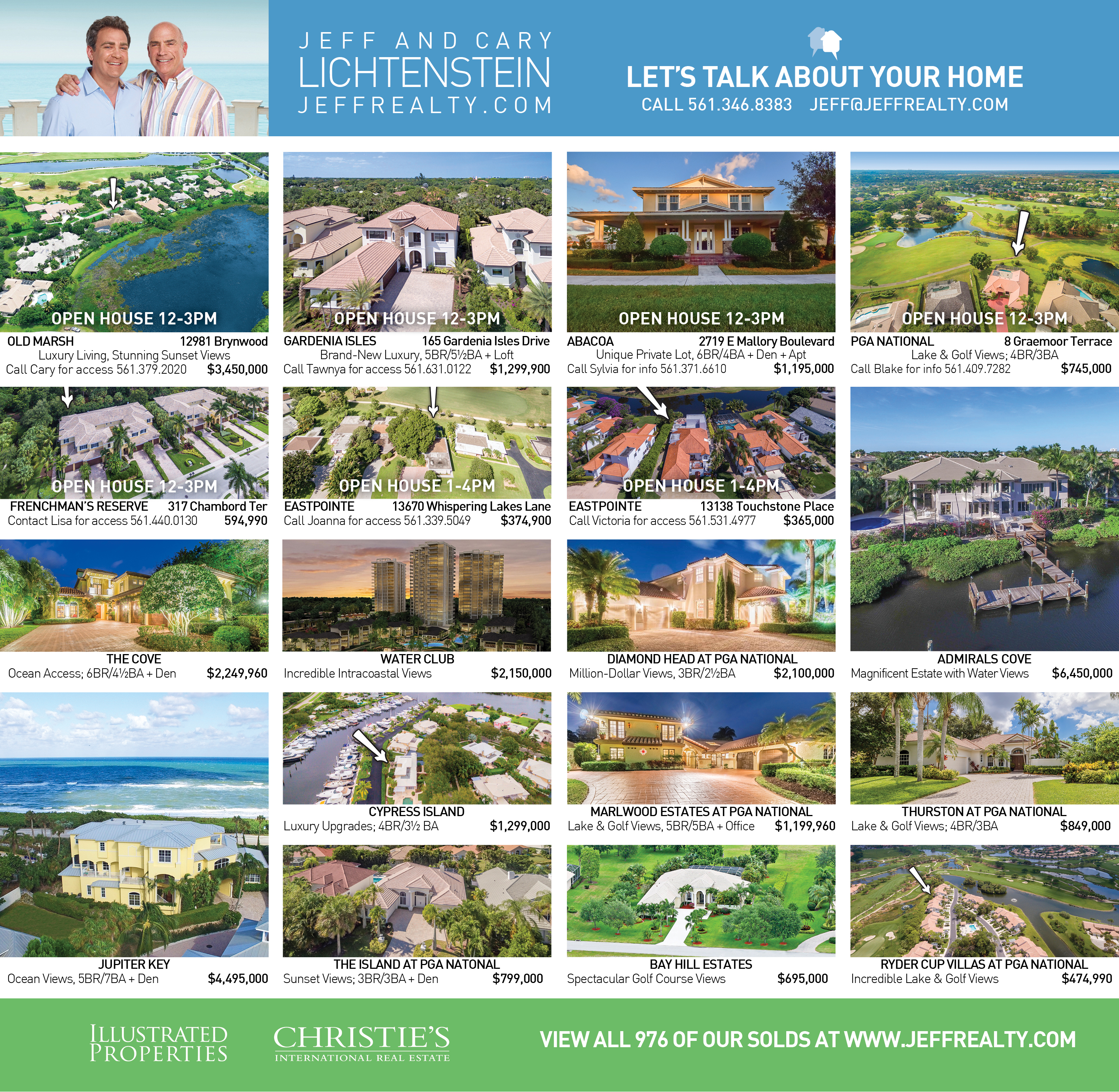 Palm Beach Post Residences Ad | December 18, 2016