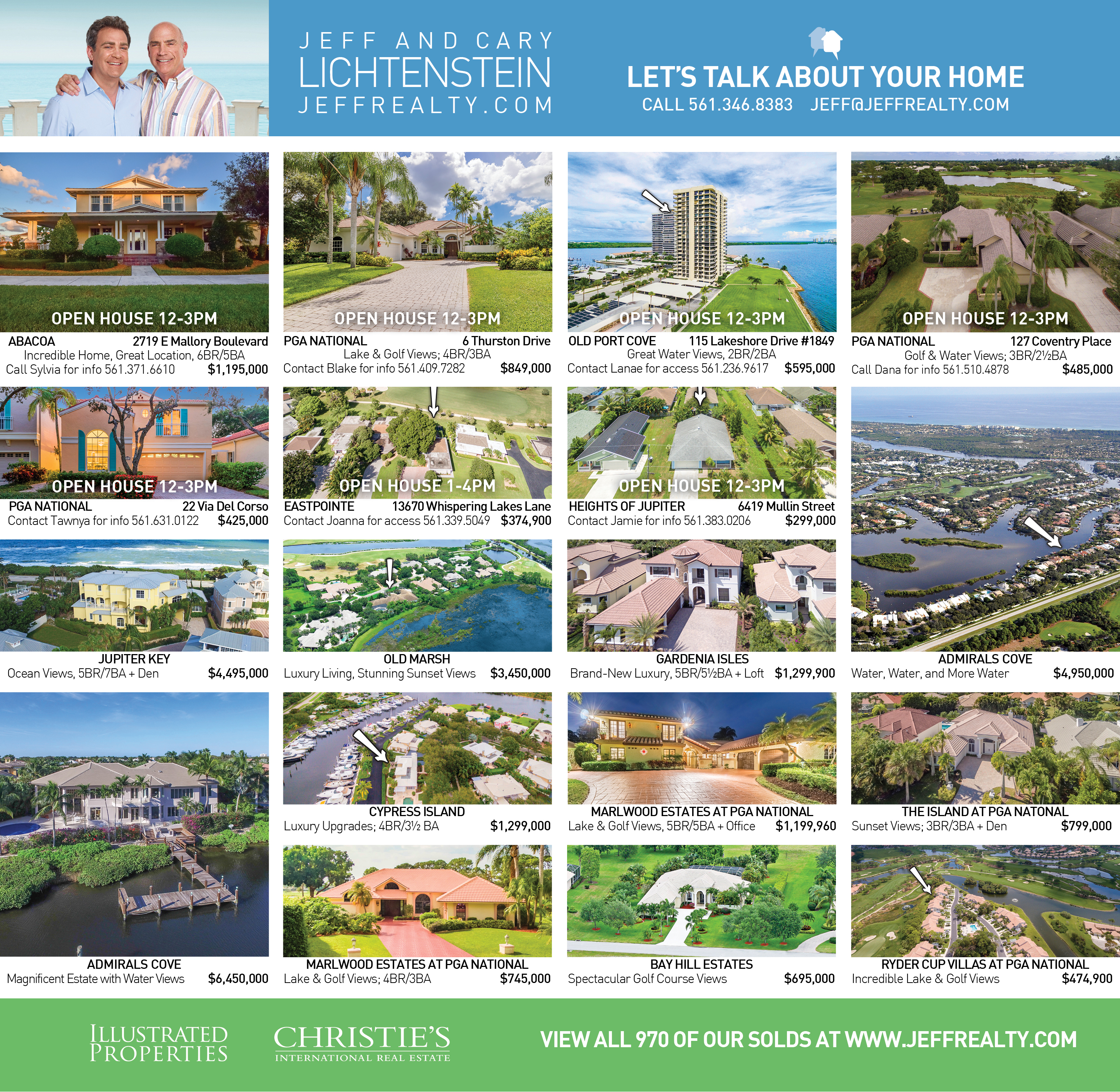 Palm Beach Post Residences Ad | December 4, 2016